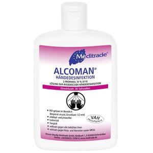 Meditrade GmbH Meditrade ALCOMAN® Händedesinfektionsmittel, Schnelle, umfassende hygienische und chirurgische Händedesinfektion, 150 ml - Flasche