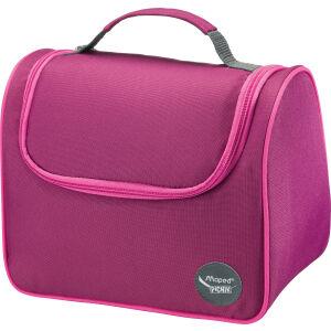 helit innovative Büroprodukte GmbH Maped® Picnik Origins Kids Lunch-Tasche, Einfach zu reinigende Isoliertasche, Dekor: pink