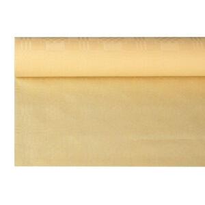 PAPSTAR Vertriebsgesellschaft mbH & Co. KG Papstar Papiertischtuch auf Rolle, Länge: 8 m, Breite: 1,2 m, mit Damastprägung, 1 Rolle, creme