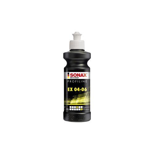 Sonax GmbH SONAX Profipolitur PROFILINE EX 04-06, Spezielle Politur für die Exzenterverarbeitung, 250 ml - Flasche