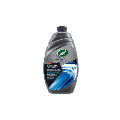 Turtle Wax Inc TURTLE WAX Hybrid Solutions Ceramic Wash & Wax, Perfekter Wachs für die Autopolitur, 1,42 Liter - Flasche