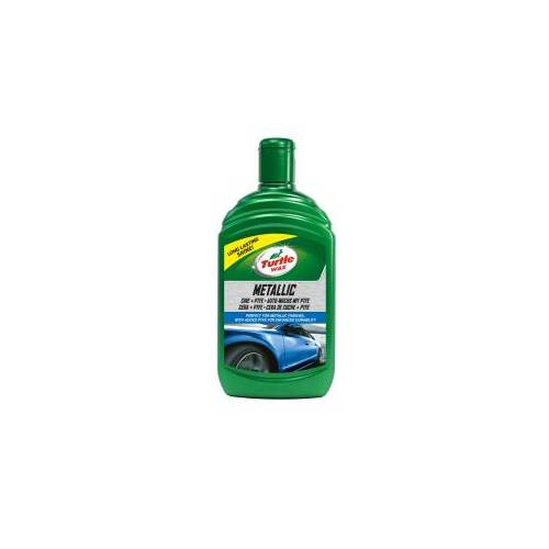 Turtle Wax Inc TURTLE WAX METALLIC Autowachs, Perfekter Wachs für die Autopolitur, 500 ml - Flasche