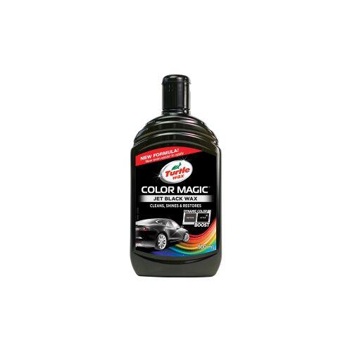 Turtle Wax Inc TURTLE WAX COLOR MAGIC Autowachs, 500 ml, Perfekter Wachs für die Autopolitur, Farbe: schwarz
