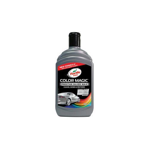 Turtle Wax Inc TURTLE WAX COLOR MAGIC Autowachs, 500 ml, Perfekter Wachs für die Autopolitur, Farbe: silber