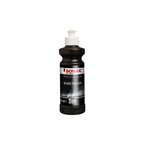 Sonax GmbH SONAX Glaspolitur PROFILINE GlassPolish, Glaspolitur zum Entfernen von leichten Verkratzungen und Vermattungen, 250 ml - Flasche