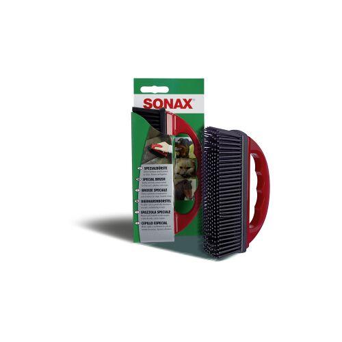Sonax GmbH SONAX SpezialBürste zur Entfernung von Tierhaaren, Entfernt Tierhaare aus Polstern, Sitzen etc., 1 Tierhaarbürste