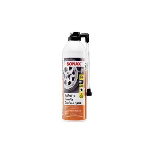 Sonax GmbH SONAX ReifenFix Pannenhilfe, Macht platte Reifen wieder fahrbereit - ohne Reifenwechsel, 500 ml - Sprühdose