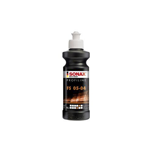 Sonax GmbH SONAX PROFILINE FS 05-04 Politur silikonfrei, Politur für professionelle Anwender in Lackierereien, 250 ml - Flasche