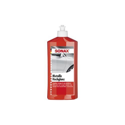 Sonax GmbH SONAX MetallicHochglanz Politur, Spezielle Politur für Metalliclacke, 500 ml - Flasche