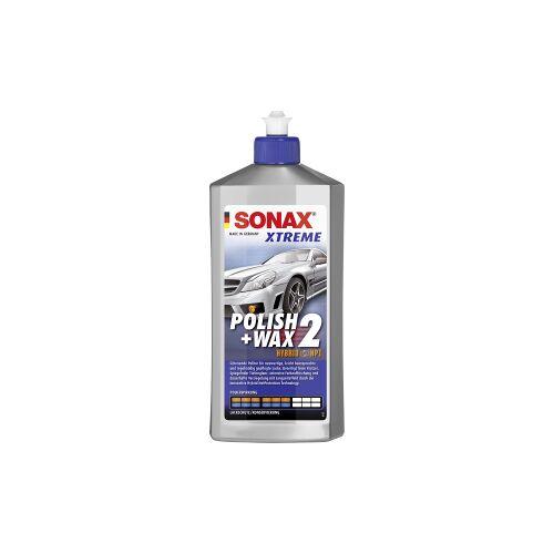 Sonax GmbH SONAX XTREME Polish+Wax 2 Hybrid NPT Lackpolitur & Wachs, Schonende Politur - mittlere Polierwirkung, 500 ml - Flasche