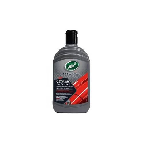 Turtle Wax Inc TURTLE WAX Hybrid Solutions Ceramic Politur & Wax, Perfekter Wachs für die Autopolitur, 500 ml - Flasche