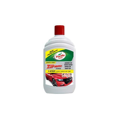 Turtle Wax Inc TURTLE WAX ZIP WAX Autoshampoo, Perfektes Mittel für die Autowäsche, 500 ml - Flasche