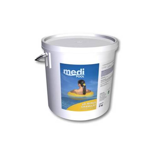 mediPOOL GmbH mediPOOL pH-Minus Granulat, Granulat zur Senkung des pH-Wertes, 5 kg - Eimer
