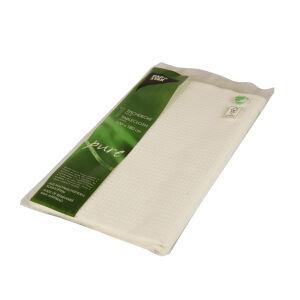 PAPSTAR  GmbH Papstar Pure Tischdecke, gefaltet, Gefaltete Papier-Tischdecke mit schöner Prägung aus 5-lagigem Tissue, 1 Packung = 1 Stück