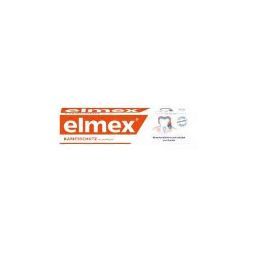 elmex Zahnpasta, Zahncreme mit Aminfluorid, 75 ml -  Tube