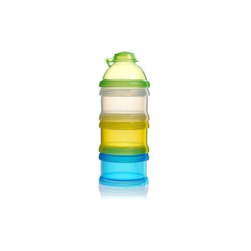 reer GmbH reer Milchpulver-Portionierer, 3er Set, Praktischer Milchpulveraufbewahrer ideal für Unterwegs, farbig sortiert