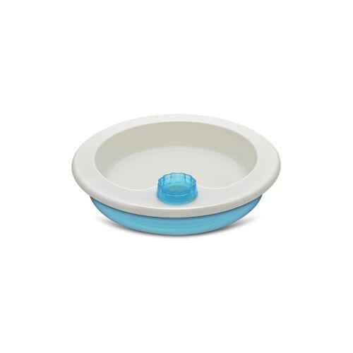 reer GmbH reer Warmhalteteller, mit rutschfestem Tellerboden, Warmes Wasser im Tellerboden hält die Nahrung warm, 1 Stück