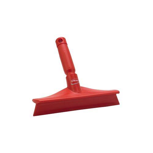Vikan GmbH Vikan Ultra Hygiene Abzieher, 245 mm, mit Ministiel, Farbe: rot