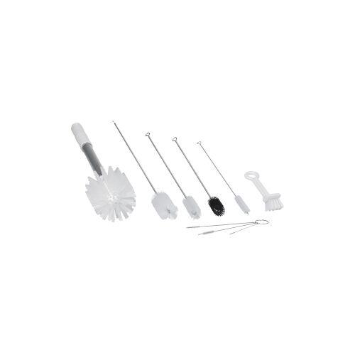 Vikan GmbH Vikan Bürstenset für Softeismaschinen, für alle Reinigungsaufgaben bei Softeismaschinen, Farbe: weiß