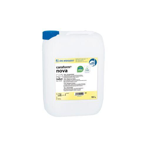 Chemische Fabrik Dr. Weigert GmbH & Co. KG Dr. Weigert caraform® nova Handspülmittel, parfümfrei, Geschirrspülmittel entfernt zuverlässig Speisereste aller Art, 10 Liter - Kanister
