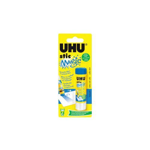 UHU GmbH & Co KG UHU stic Magic Klebestift, Klebt schnell, fest und dauerhaft, 8,2 g - Klebestift