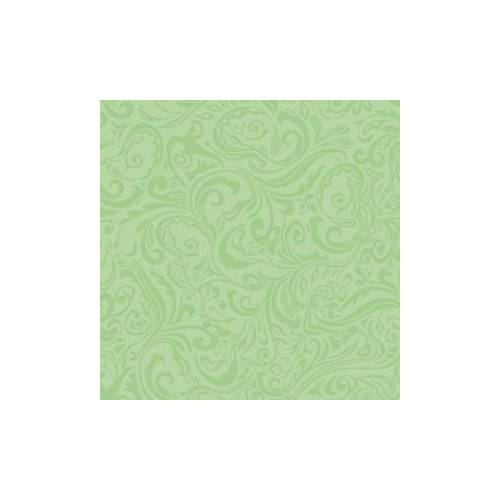 "Mank GmbH Tissue + Paper Products ""Mank Airlaid Linclass Servietten Ornaments """"LIAS"""", 40 x 40 cm, 1/4 Falz, 60 g, 1 Karton = 6 x 50 Stück = 300 Servietten, pistazie"""