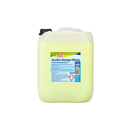 Weco GmbH WECO Geschirr-Reiniger flüssig, Intensivreiniger für Spülmaschinen - mit Chlor, 25 kg - Kanister
