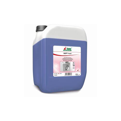 Tana Chemie GmbH TANA SOFT fresh Weichspüler, Antistatischer Weichspüler mit lang anhaltendem Duft, 15 l - Kanister