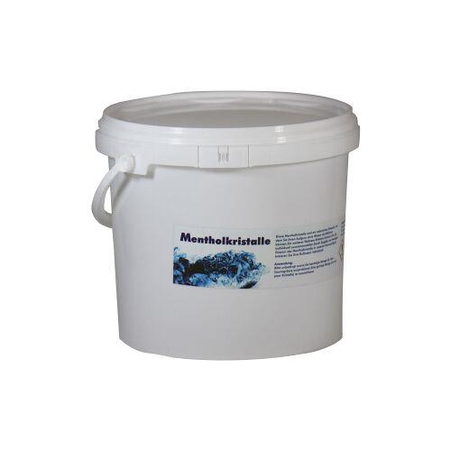 WARDA-DUFTÖLE Mentholkristalle für die Sauna, Überzeugen Sie sich von der Qualität!, 1000 g - Dose