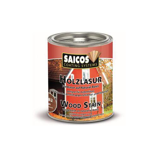 SAICOS COLOUR GmbH SAICOS Holzlasur, teak, Schützt Holz gegen Schimmel und Pilzbefall im Außenbereich, 750 ml - Dose