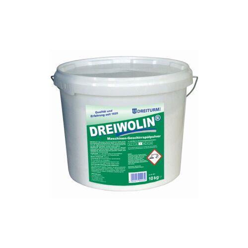 DREITURM GmbH Dreiturm DREIWOLIN® classic Geschirrspülpulver, Maschinen-Geschirrspülpulver, 10 kg - Eimer
