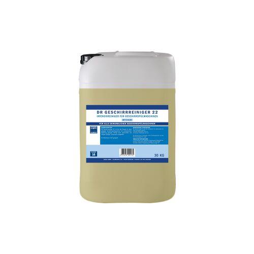 DR Gewerbe Spülmaschinenreiniger 22, Intensivreiniger für Geschirrspülmaschinen, 25 kg - Kanister