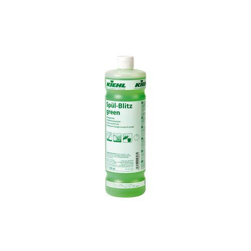 Kiehl-Unternehmens-Gruppe Kiehl Spül-Blitz green Geschirrreiniger, Fettlösender Geschirrreiniger auf Basis nachwachsender Rohstoffe, 1000 ml - Flasche