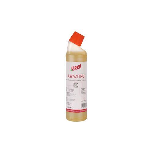 Lloyd AWAZITRO Sanitärreinigungs-Gel, Auf Zitronensäurebasis, 750 ml - Flasche