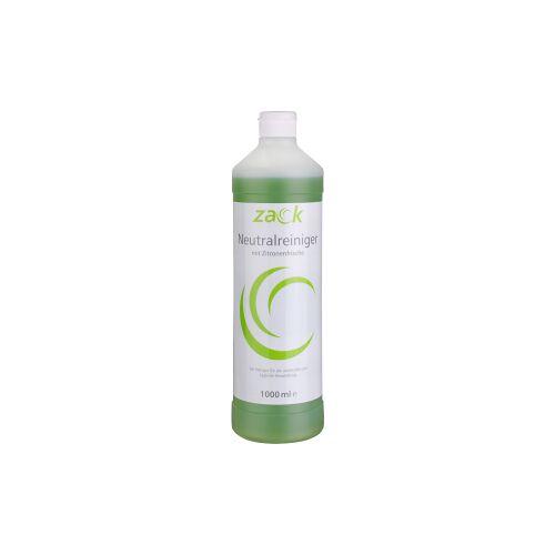 ZACK Neutralreiniger mit Zitronenfrische, Ein wirksamer Reiniger für die universelle und tägliche Anwendung, 1 Karton = 12 Flaschen á 1000 ml