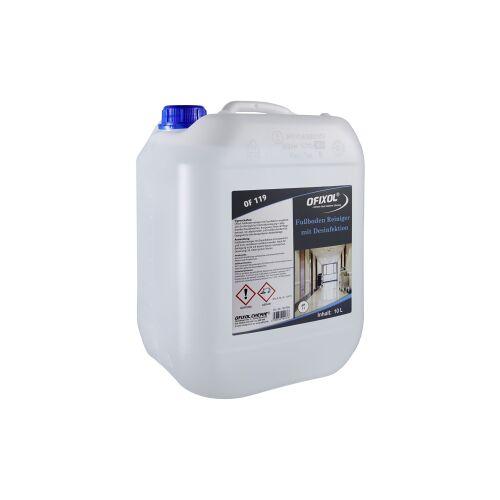 Ofixol Fußbodenreiniger mit Desinfektion, Für die tägliche Unterhalts- und Bodenreinigung, 10 l - Kanister
