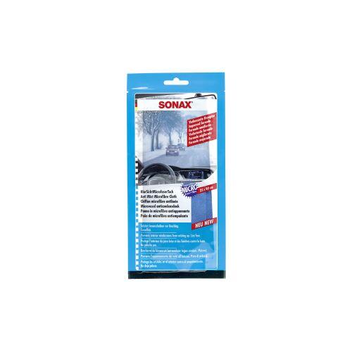 Sonax GmbH SONAX KlarSicht Microfasertuch, Fusselfrei, schützt Innenscheiben vor Beschlag, 1 Tuch, 25 x 40 cm