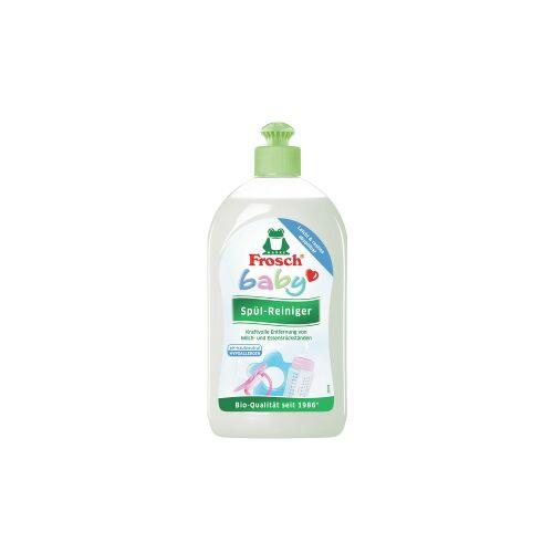 Rex Frosch Baby Spül-Reiniger, Speziell für Babygeschirr und Spielzeug, 500 ml - Flasche