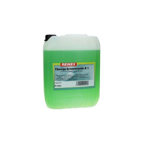 Reinex Chemie GmbH Reinex R1 Schmierseife flüssig Universalreiniger, kraftvolle Seife zum Wischen und Schmieren, 10 l - Kanister