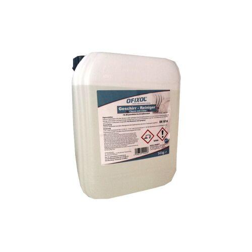 Ofixol Spülmaschinen Intensiv-Reiniger, Geschirrspülmittel für Spülmaschinen, flüssig, 14 kg - Kanister