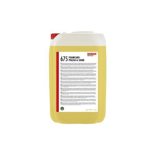 Sonax GmbH SONAX Politur Foamcare Polish & Shine, Schäumende Reinigungs- und Pflegepolitur mit natürlichem Carnaubawachs, 25 Liter - Kanister