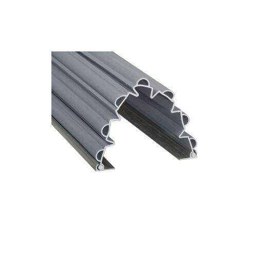 reer GmbH reer Fingerklemmschutz, Sicherer Klemmschutz verhindert das Einklemmen der Finger, Länge: 1,40 m, 90°, grau