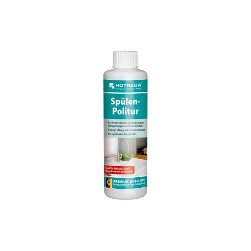 HOTREGA® GmbH HOTREGA® Spülenpolitur, Spezialpolitur zur Entfernung von Verfleckungen, Ablagerungen und feine Kratzer, 250 ml - Flasche
