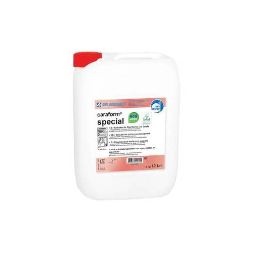 Chemische Fabrik Dr. Weigert GmbH & Co. KG Dr. Weigert caraform® special Entkalker, Saurer Kalklöser für die Reinigung verkalkter Geräte und Oberflächen, 10 Liter - Kanister