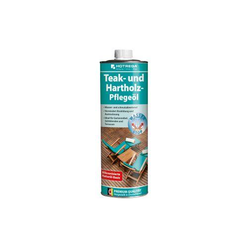 HOTREGA® GmbH HOTREGA® Teakholz-Pflegeöl, Lösungsmittelfreies, geruchloses Pflegeöl, 1000 ml - Flasche