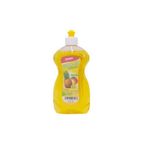 Reinex Chemie GmbH Reinex Ultra-Fix Spülmittel, Handspülmittel mit hoher Fettlösekraft, 500 ml - Flasche, Exotic