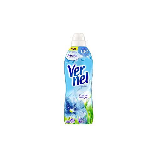 Henkel AG & Co. KGaA Vernel Weichspüler Frischer Morgen, Konzentrat für weichere Wäsche mit frischem Duft, 0,9 Liter - Flasche