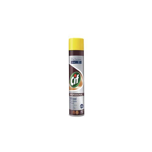 Diversey Deutschland GmbH & Co. OHG CIF Professional Möbelpolitur Spray, Möbelpflege Spray zum Schutz Ihrer Holzmöbel, 400 ml - Sprayflasche