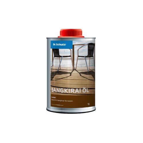 Cc Dr. Schutz®  Terrassenöl Bangkirai, Dunkel, Naturöl für Bangkirai Terrassen, 1 Liter - Flasche