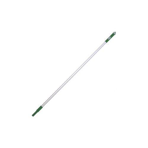 De Witte ZAPA+, Stiel mit Wasserdurchlauf, Farbe: grün